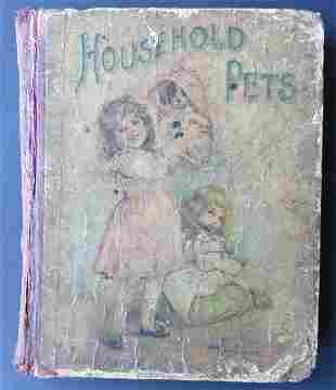 Household Pets, Stories of Cats, Dogs 1900 illustrated