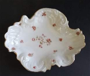 Victoria Carlsbad Austria small Porcelain dish 1891