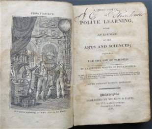 Jaudon, Short System Of Polite Learning 1830