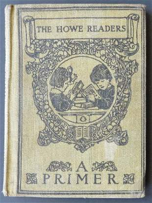 Howe Readers A Primer, 1909, Victorian illustrations