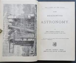 Steele, New Descriptive Astronomy, 1884, illustrated
