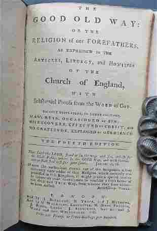 Burder, Good Old Way Religion of Our Forefathers 1781