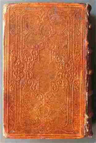 Holy Bible, Old & New Testaments, 1866 Post Civil War