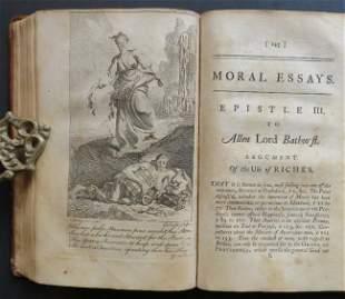 Alexander Pope, Moral Essays 1stEd 1751, illustrated