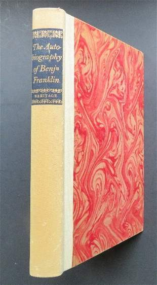 Autobiography of Benjamin Franklin, 1951 illustrated