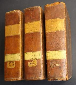 Latin-German, German-Latin Dictionaries 1820 3vol. Ed.