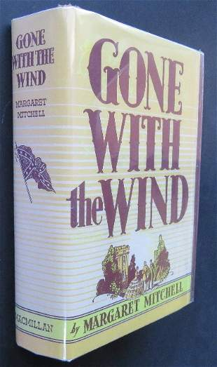 Mitchell, Gone With The Wind, 1stEd.1936 Sept. Print