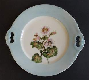 Charles Field Haviland Limoges Flower Children Plate