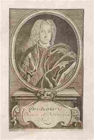King Christian VI of Denmark Norway 1733 Sysang