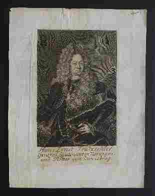 Tritzschler, General of Norway Knight of Dannebrog 1708