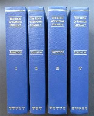 Robertson, Emperor Charles V, Complete 4 v.Ed 1996 ill.