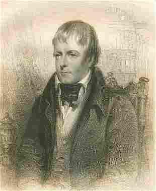 John Robinson, Walter Scott, Engraved after Gordon 1855