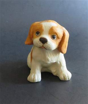 Cocker Spaniel Puppy Homco Porcelain Figurine 1970s-80