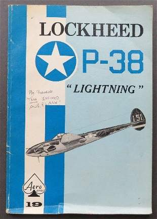 Maloney, Lockheed P-38, Lightning, 1968 illustrated