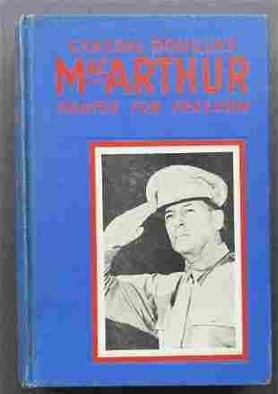 General Douglas MacArthur, Fighter For Freedom, 1942