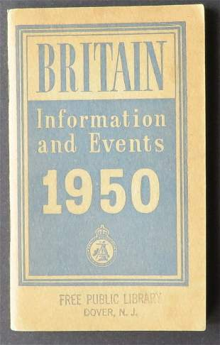 Britain Information and Events Brochure 1950