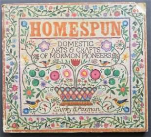 Paxman, Homespun, Arts, Crafts Mormon Pioneers 1976