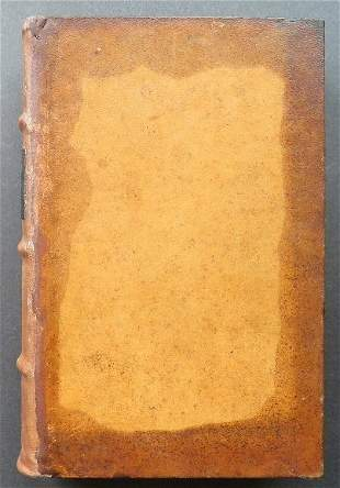 Twain, Roughing It, 1st/1st 1872 leather bound 300 ill.