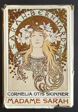 Otis Skinner, Madame Sarah Bernhardt, 1967 Ed illustr.