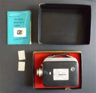 Film Camera Cine-Kodak Magazine 8 Complete 1946-1955