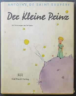 Saint-Exupery, Der Kleine Prinz, 1st German Ed. 1964