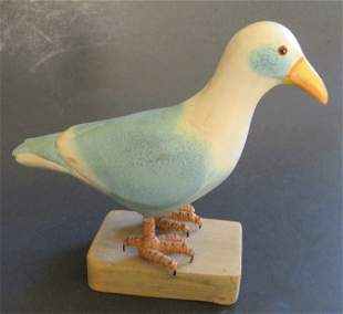 Sand peddler, Bird Wood carved Sculpture Folk Art
