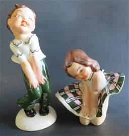 Rock & Roll Boy and Girl Figurine Sock Hop Fun 1950s