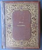 Large Holy Bible Civil War Era Harding 1863 illlustrat