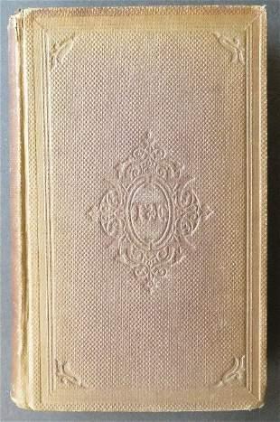 Kingsley, Sir Walter Raleigh His Times 1stUS Ed. 1859