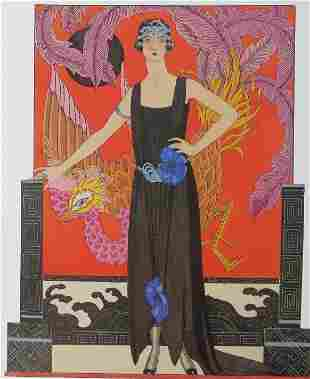 Worth, La Belle Dame Sans Merci Dress, 1921 Barbier