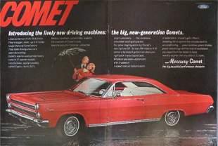 Mercury Comet Ford 1966 Large Advertisement 1965