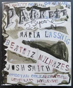 Parkett No. 85, Contemporary Art Book, 2009