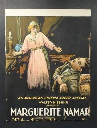 Silent Movie Poster Stolen Moments Rudolf Valentino