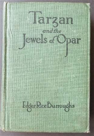 Burroughs, Tarzan and Jewels of Opar, Burt 1918