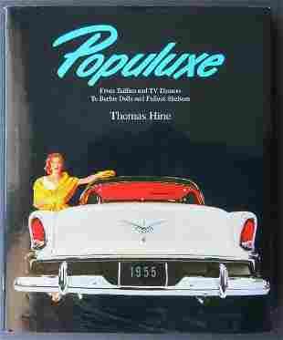Hine, Populuxe Look Life America in 50s- 60s, illustrat