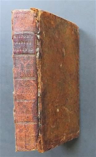 Milton, Paradise Regained Tractate Education Poems 1753