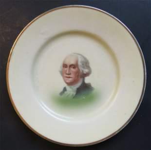 George Washington Bicentennial 1932 Porcelain Plate