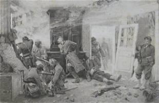 Neuville, The Last Cartridges, 1873, Photogravure 1881