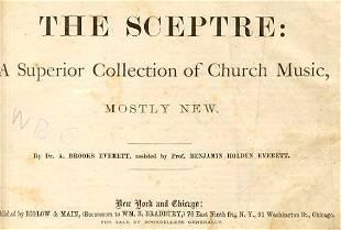 Everett, Sceptre Church Music 1871 for School