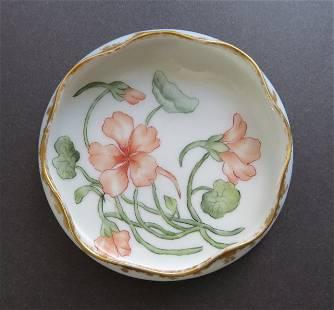 Art Nouveau Haviland Porcelain Bowl 1880 Limoges