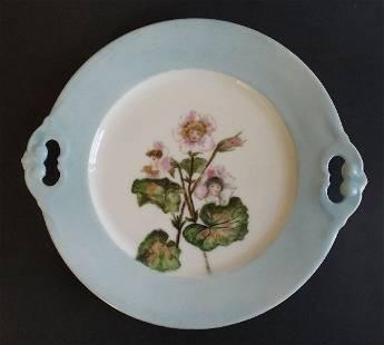 Charles Field Haviland Limoges Flower Children Plate