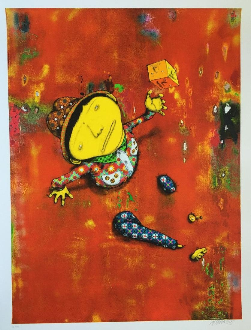 OS GEMEOS (1974), Lithography