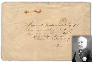 Ferdinand de Lesseps Suez Canal Promoter and Legion of