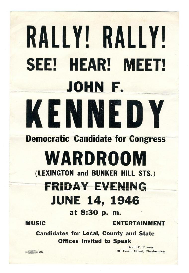 John F. Kennedy's Congressional Campaign of 1946, A - 3