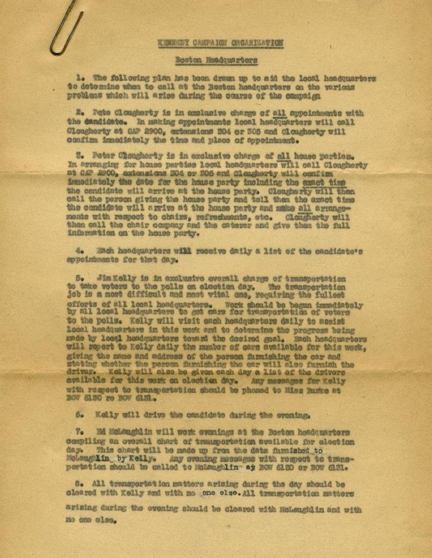 John F. Kennedy's Congressional Campaign of 1946, A - 6