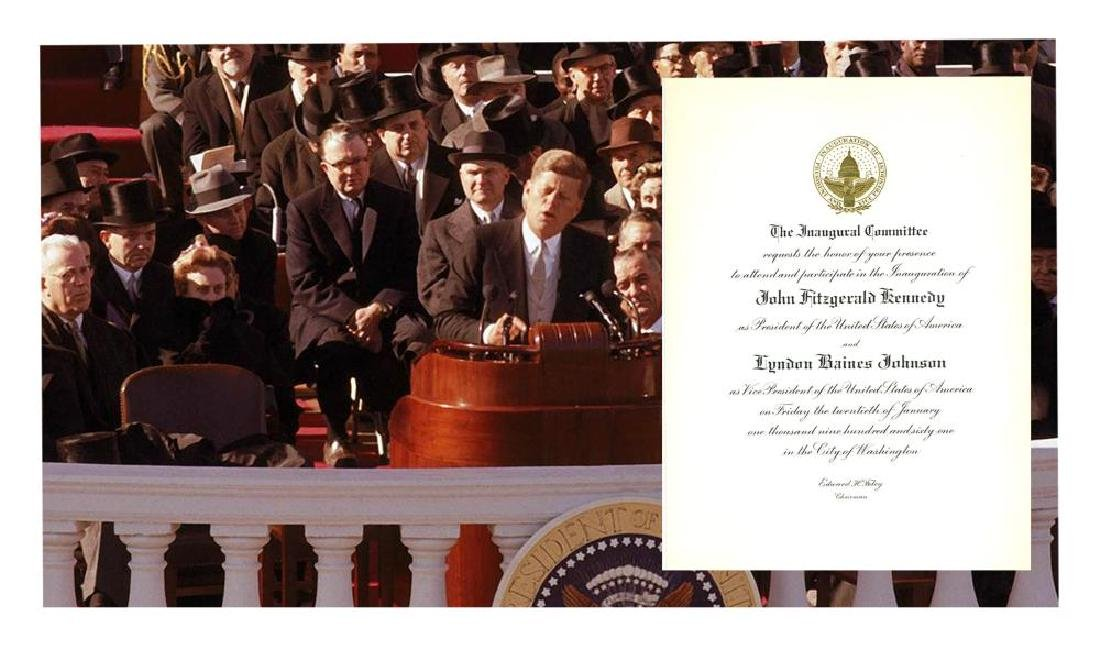 Inaugural Committee Invites Kennedy Family Friend