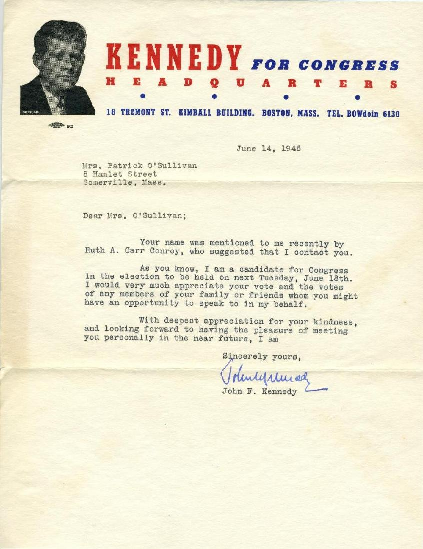 John F. Kennedy Makes Last-Minute Appeal for Votes in