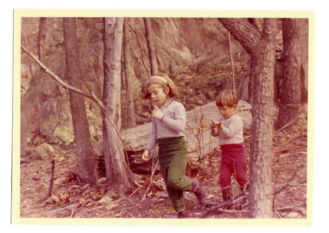 Caroline & John Kennedy Jr. Joyfully Gallivanting About