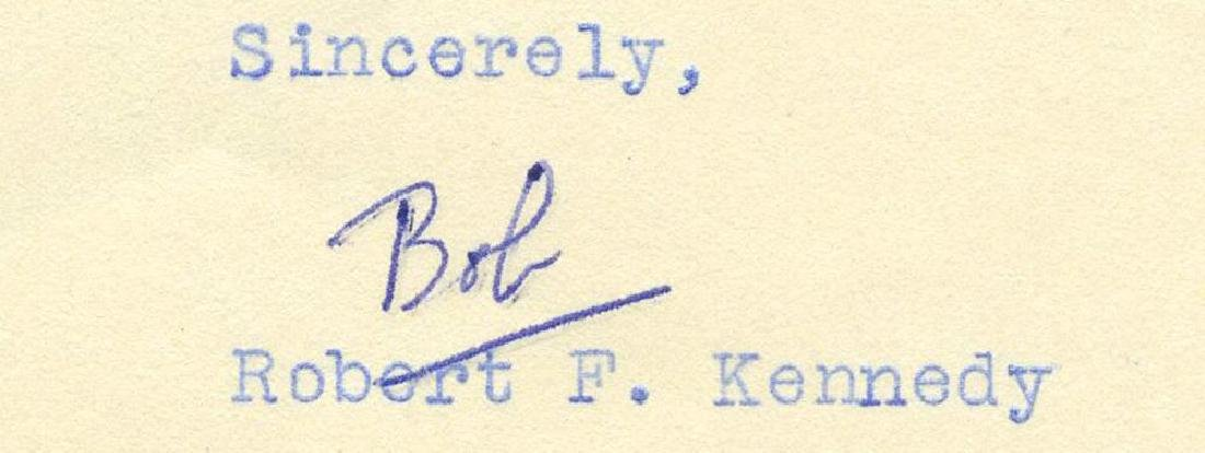 Robert F. Kennedy Writes Family Friend and Political - 2