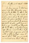 """French Queen Marie Amelie Pens a Note to """"her dear"""